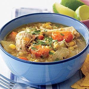 Spicy Chicken Stew - tastes like Tortilla soup!