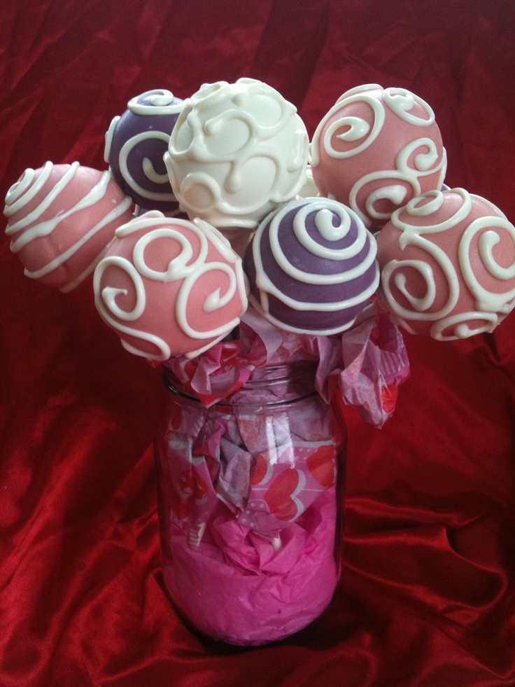Cake Pops Valentines Day or any special occasion. Weddings, Birthdays ...