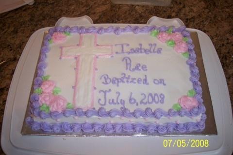 baptism cakes at walmart