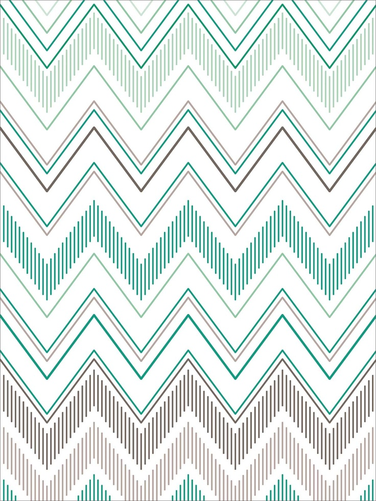 Teal chevron wallpaper pinterest for Teal chevron wallpaper
