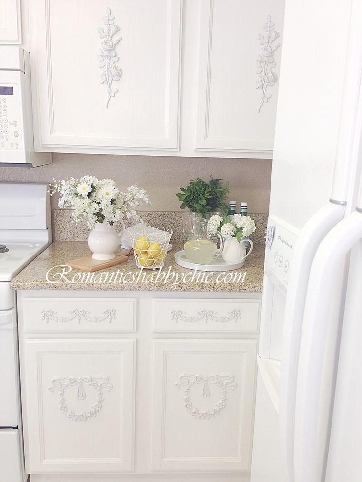 Beyaz mutfak/ Shabby chic kitchen
