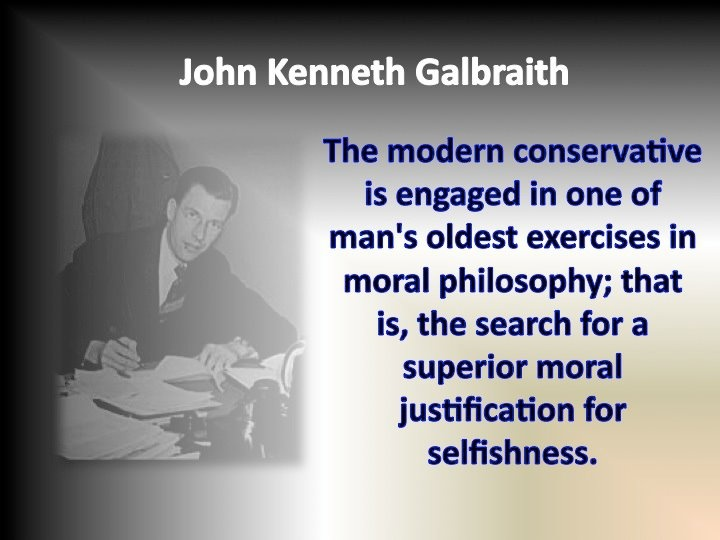 galbraith the position of poverty essay