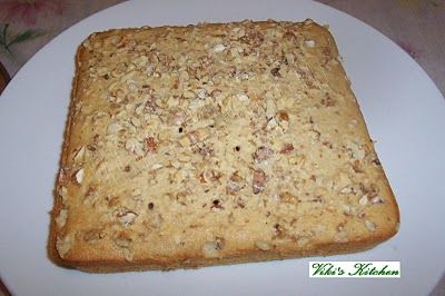 Banana Walnut Cake | Coffee / Sheet Cakes | Pinterest