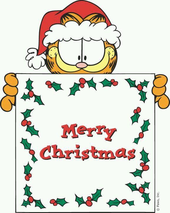 Καλά Χριστούγεννα από τον Γκάρφιλντ...