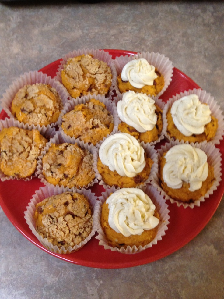 Pumpkin Cinnamon Streusel Muffins. | Cakes, cupcakes, and goodies I'v ...
