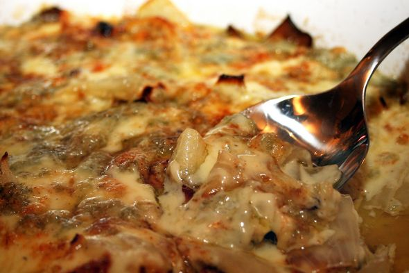 Caramelized onion gratin | Side Dishes | Pinterest