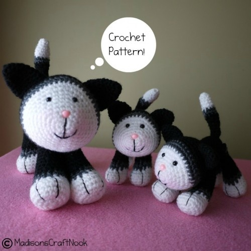 ... and kittens crochet pattern madisonscraftnook - Patterns on ArtFire