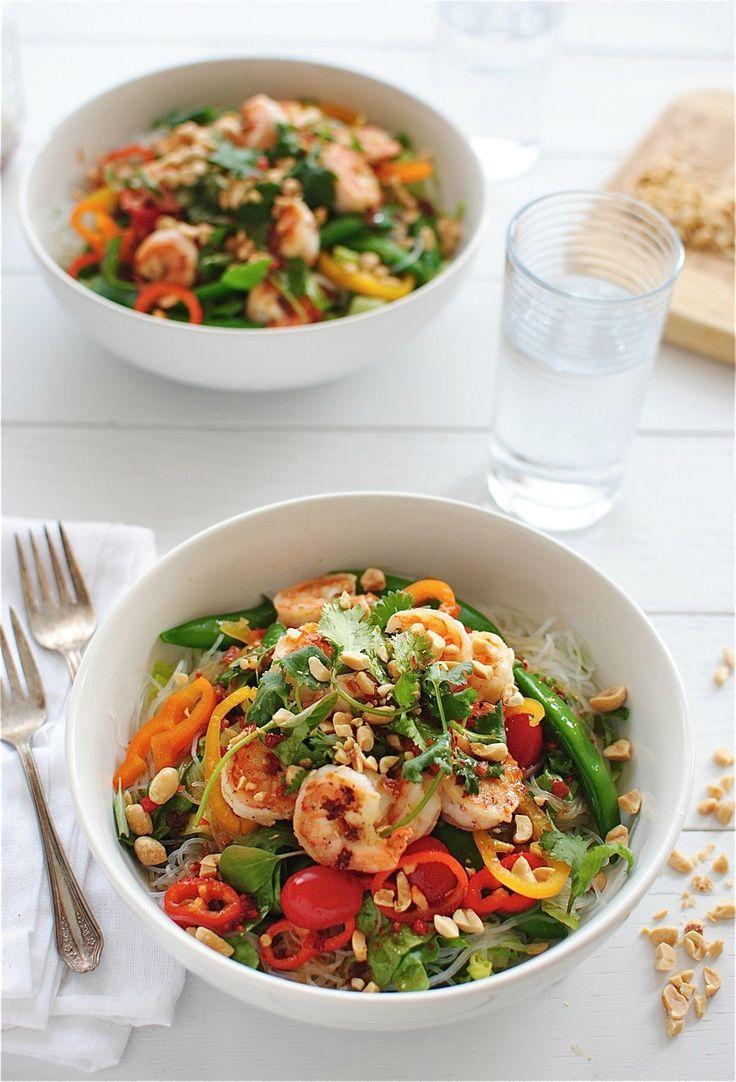 Thai Shrimp Salad | Bev Cooks | Salads | Pinterest