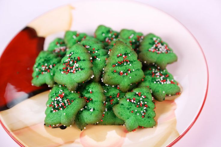 Cream Cheese Press Cookies | Christmas ideas & treats | Pinterest