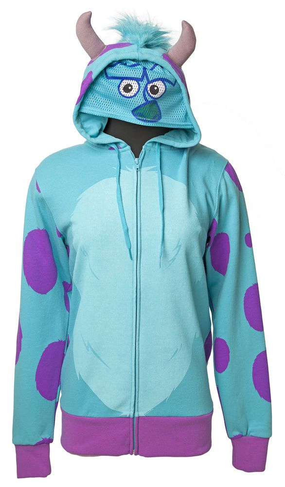 Monsters Inc Pixar Disney Sully Costume Nwt Adult Zip Up  sc 1 st  Meningrey & Monster Inc Costumes For Adults - Meningrey
