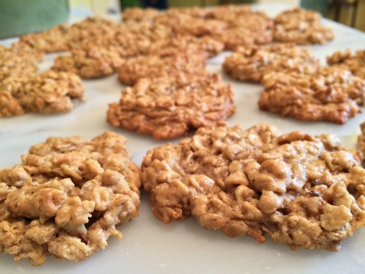 Toasted Oatmeal Cookies - | Sweets | Pinterest