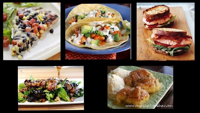 ... Smoked Salmon BLT, Pioneer Woman's Ginger Steak Salad, Apple Dumplings