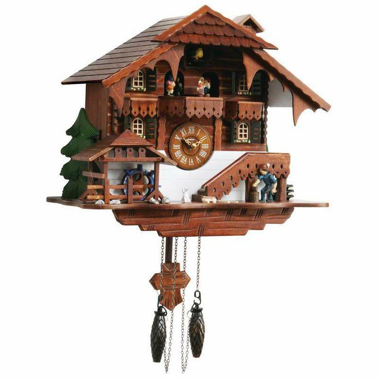 Cuckoo clock kassel made in germany bonanza members goodies pint - Motorcycle cuckoo clock ...