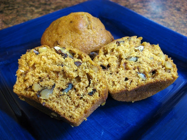 Pumpkin Ginger Nut Muffins | Recipes to Try-Breakfast | Pinterest