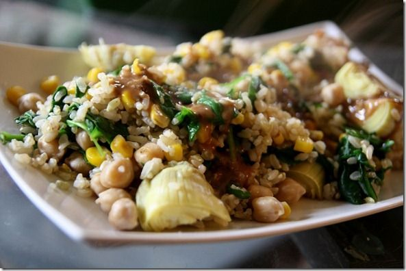 chickpea stir-fry | I want to eat... | Pinterest