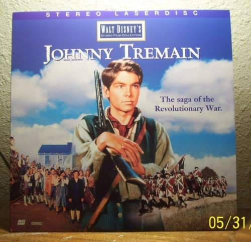 Disney s Johnny Tremain  57 LASERDISC LD-Hal Stalmaster Luana Patten    Luana Patten Johnny Tremain
