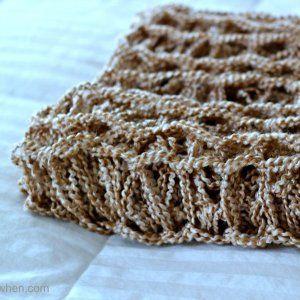 Arm Knitting Tutorial: DIY Arm Knitting a Blanket