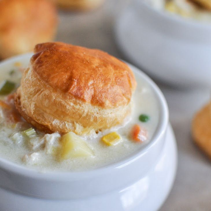Chicken Pot Pie Soup XII Recipe | Must try recipies | Pinterest