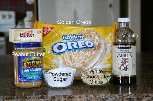 Oreo Chocolate Chip Peanut Butter Bars Recipe — Dishmaps