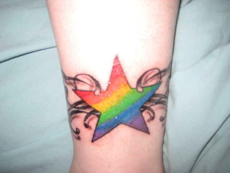 rainbow star tattoos best naked ladies. Black Bedroom Furniture Sets. Home Design Ideas