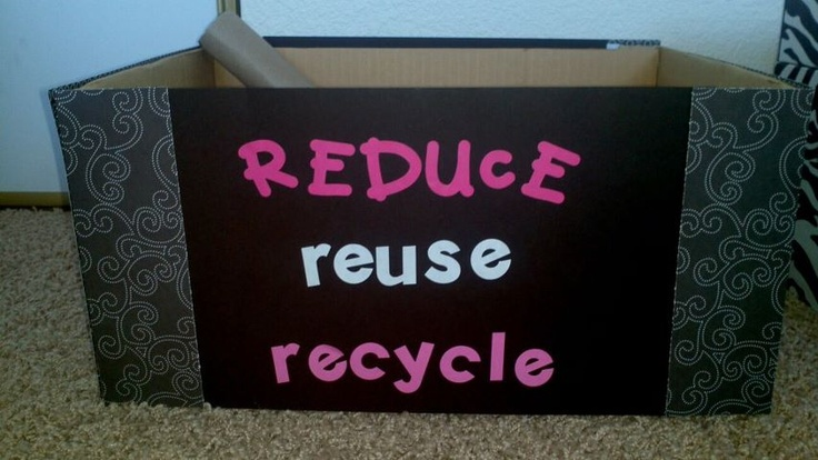 Reduce reuse recycle my pinterest inspired projects pinterest - How to reuse magazines seven inspired ideas ...