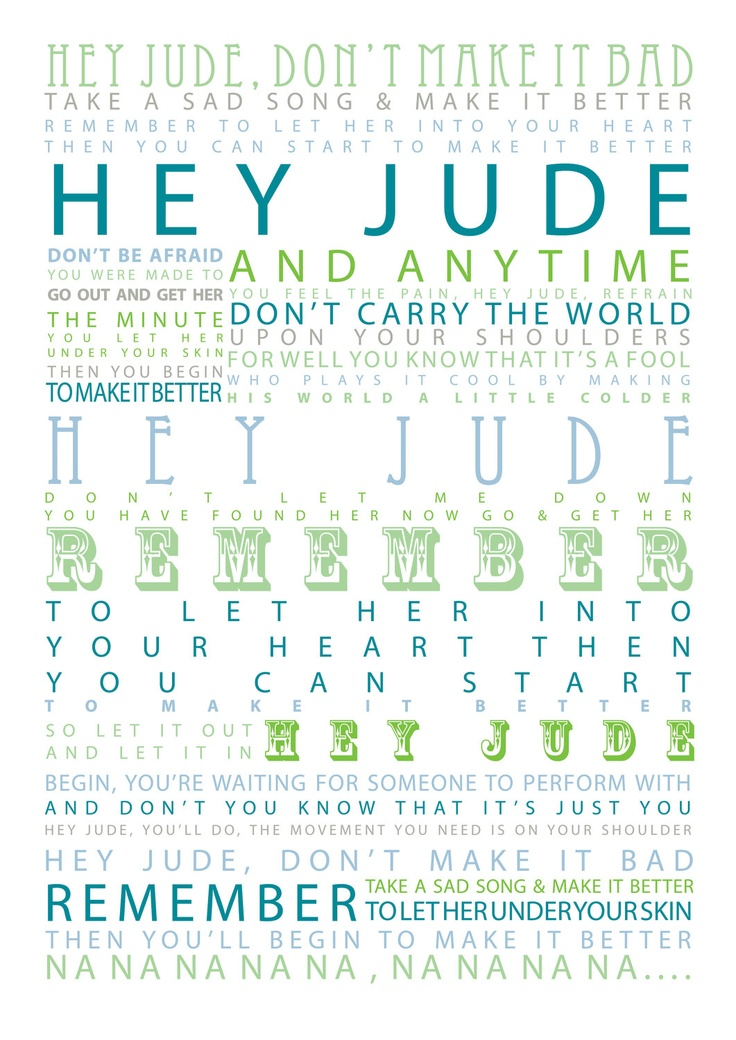 The Beatles – Hey Jude Lyrics | Genius Lyrics