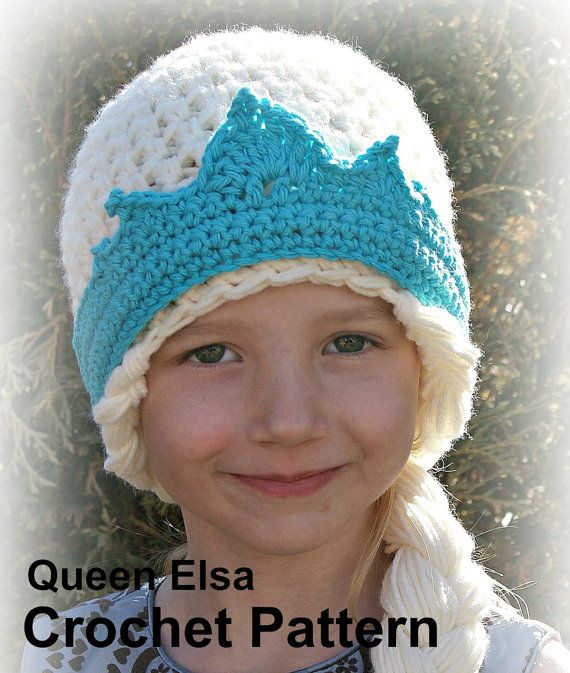 ELSA Hat Pattern Crochet Pattern Instant Download by bummybaby, $5.00