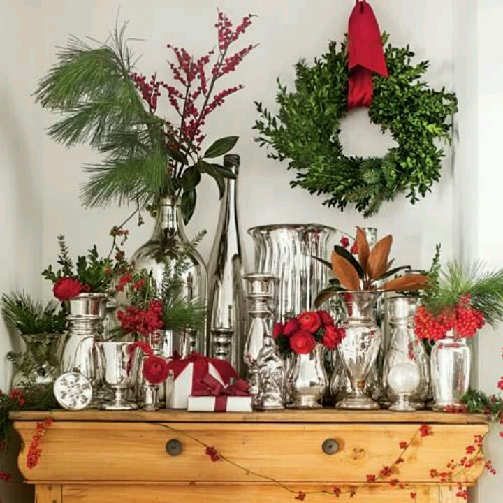 Christmas decor christmas pinterest for Pinterest christmas decorations for the home