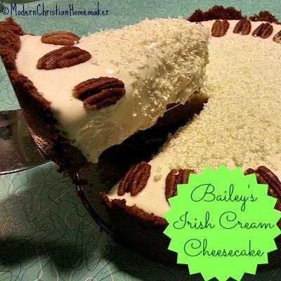 Bailey's Irish Cream Cheesecake #Bailey's #dessert www.LiquorList.com...