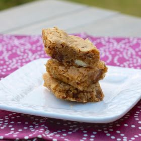 The Sweets Life: Kit Kat Blondies with White Chocolate Chips