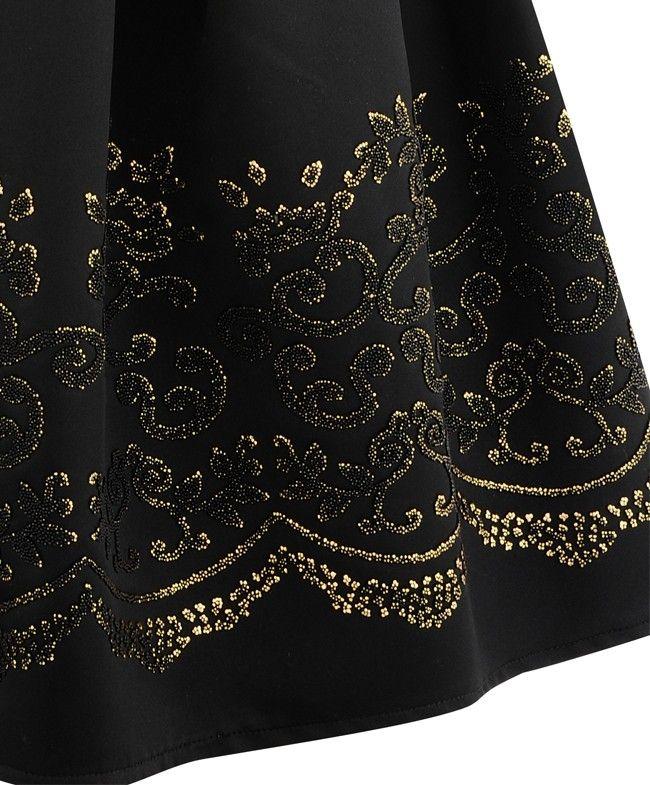 rococo caviar beaded dress