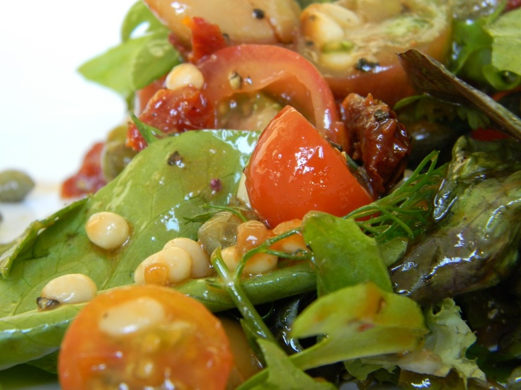 trader ro's : sun dried tomato salad with white beans and capers ...