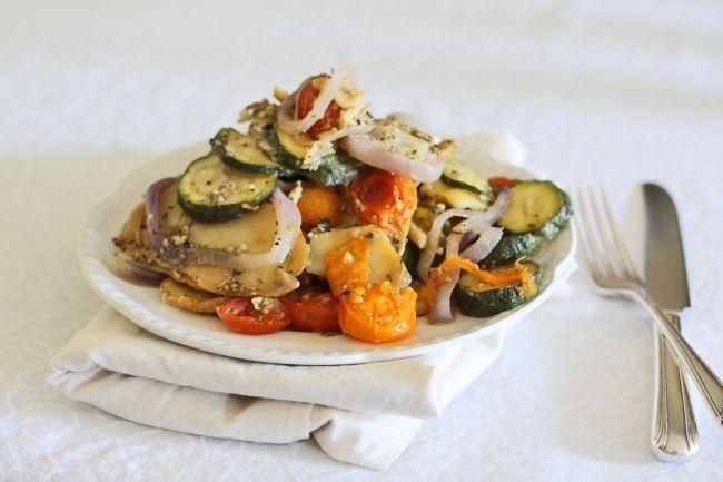summer vegetable gratin | Recipes - savory | Pinterest