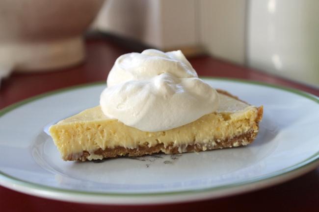 Meyer Lemon Cream Pie with Nilla Wafer Crust | Gourmet Gamine