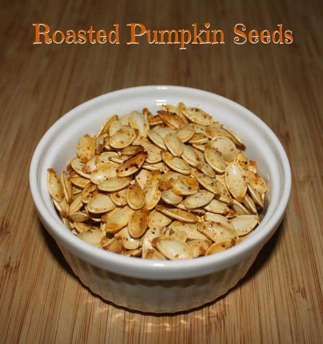 Roasted Pumpkin Seeds | Recipe