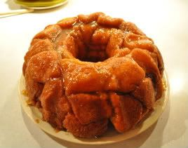 Grands! Monkey Bread Recipe- I cut the rounds in eights for smaller ...
