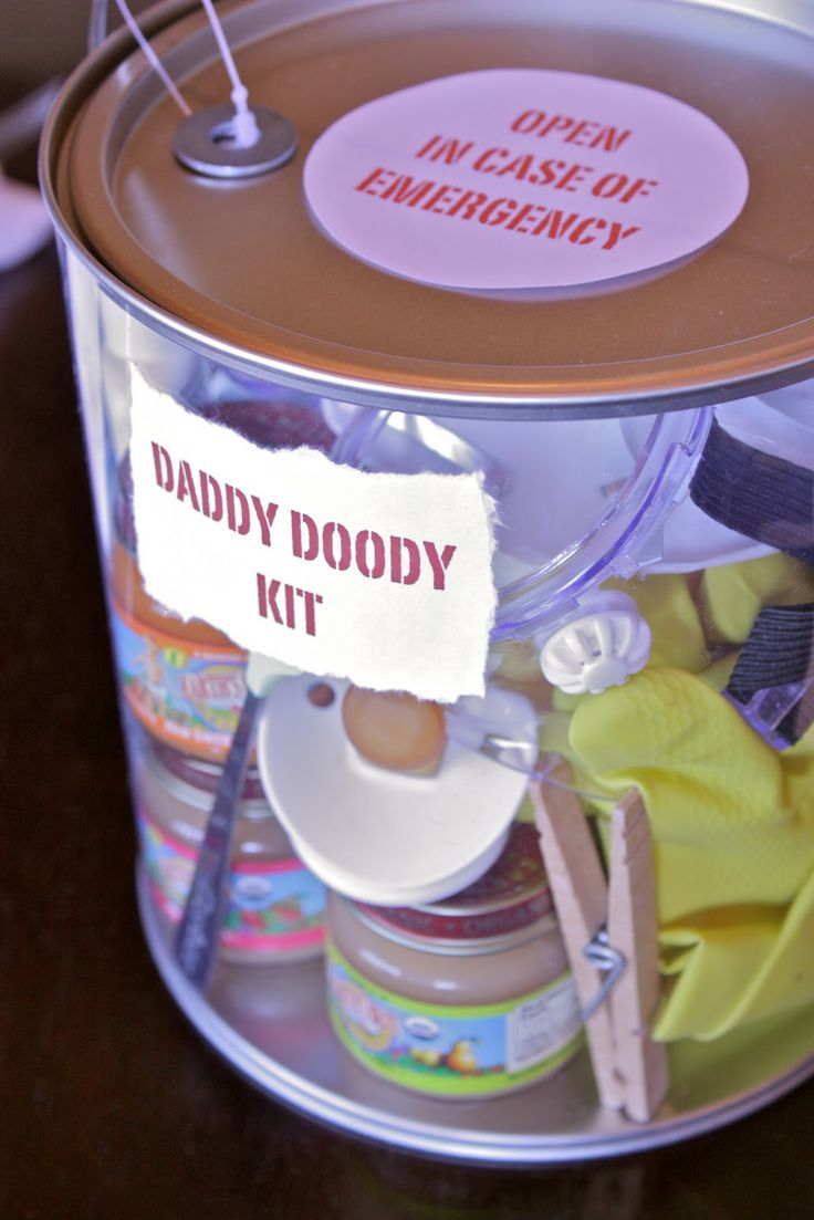 Daddy Doody Kit--http://www.livingeventfully.com/2010/03/because-its-his-baby-too.html