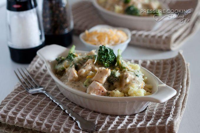 Creamy Chicken and Broccoli over Rice | Recipe