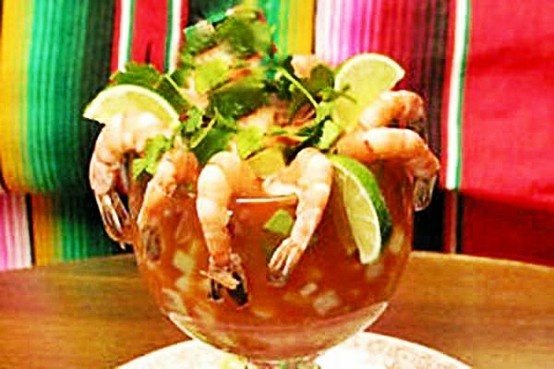 Cóctel de Camarones / Shrimp Cocktail | México | Pinterest