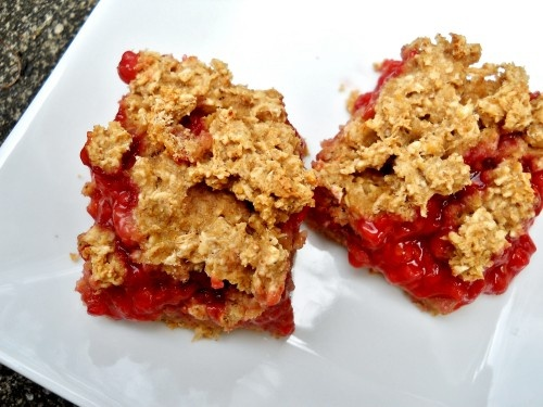 Raspberry Oatmeal Bars | Deserts & Tasty Treats | Pinterest