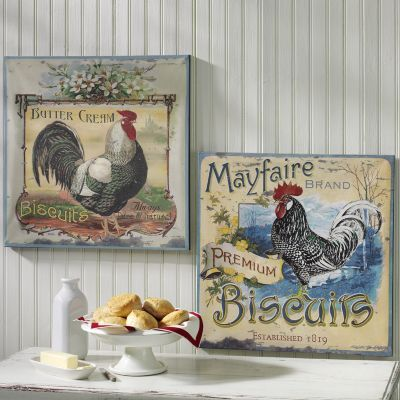 Rooster Wall Decor To Decorate Kitchen Wall Art Pinterest