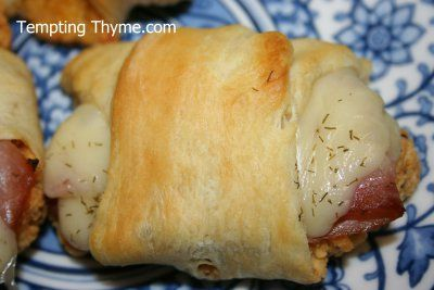 Chicken Cordon Bleu Crescent 2 | Food | Pinterest