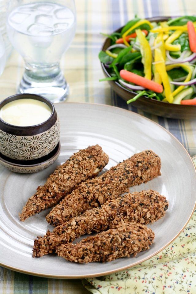 Crispy Baked Chicken Fingers | Recipe