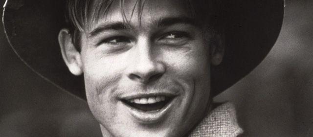Brad Pitt 1991 | Face ... Brad Pitt