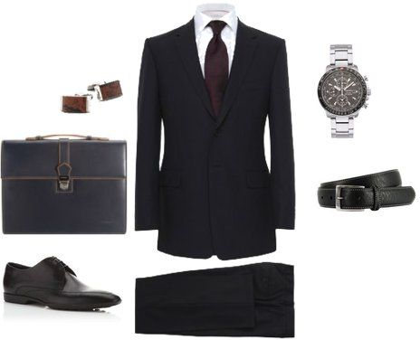 Interview Attire Professional Dress Men Pinterest