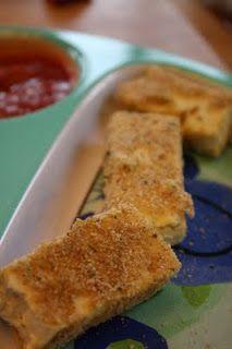 is for Dinner: Baked Tofu Sticks | Yummy | Pinterest