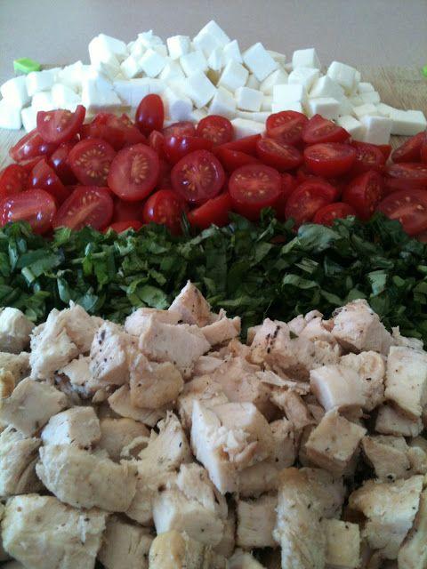 Chicken caprese pasta | Eat it | Pinterest