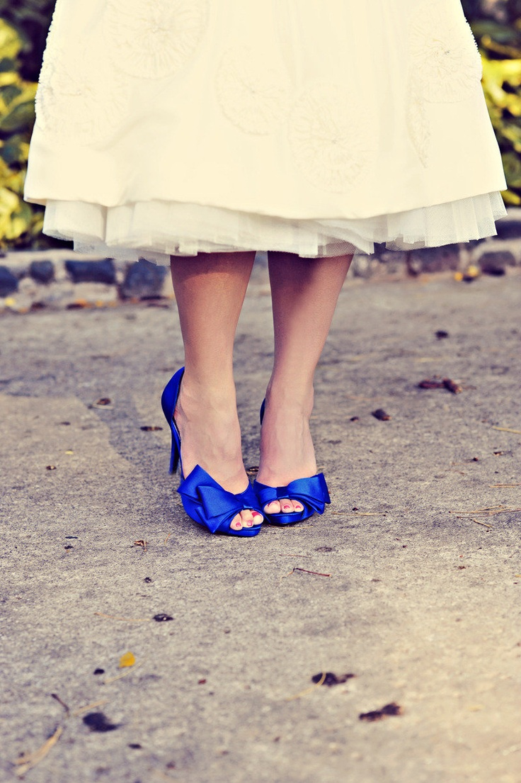 Royal Blue Satin Wedding Shoes Royal Blue Pinterest