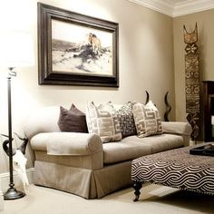 Living Room Home Decor For Fine Afrocentric Living