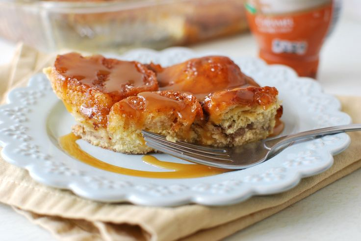 Salted Caramel Bread Pudding #saltedcaramelbreadpudding #breakfast # ...